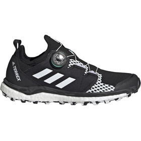 adidas TERREX Agravic Boa Trail Running Shoes Women, core black/feather white/acid mint